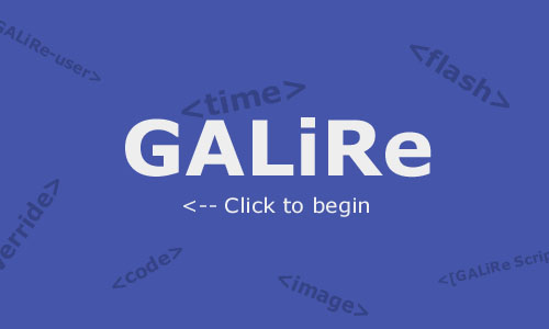 GALiRe User's Manual